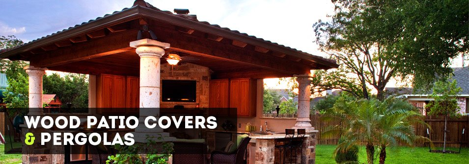 Wood Patio Covers and Wood Pergolas
