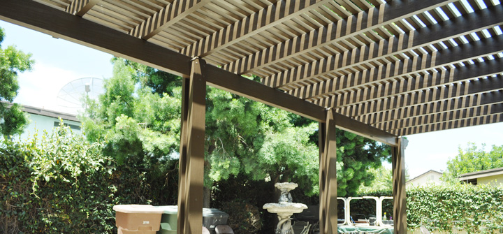 Open Lattice Patio Covers