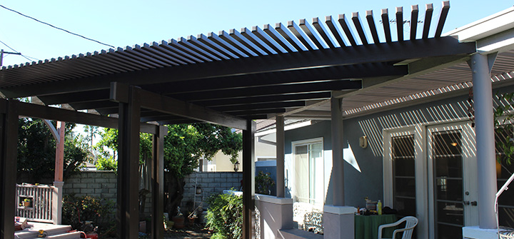 28) Completely Change The Look Of Your Property With A New Open Lattice  Patio Cover ...