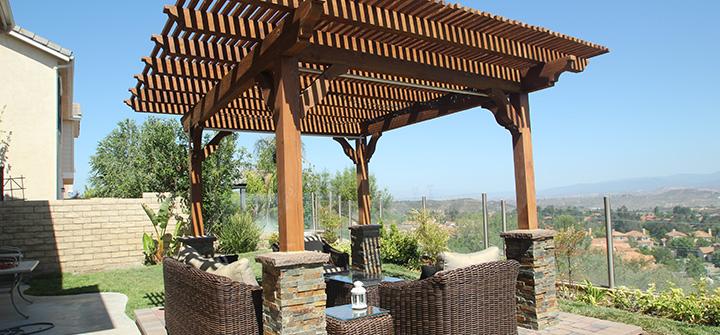 Do It Yourself Home Design: Pergolas Building