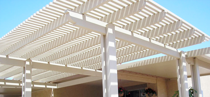 1) Vinyl Patio Covers Are Great For High Intensity Weather Areas.