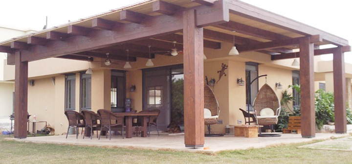 Wood Cover 8 Function And Design Combine To Make Your Patio A Wonder Behold