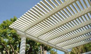 Open Lattice Aluminum Patio Cover