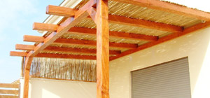 Lattice Wood Patio Cover