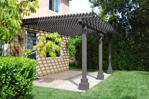 Wood Patio Cover