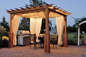 A Pergola Is Free Standing Garden Structure That Usually Used To Support Climbing Vines And Shade Sitting Areas The Difference Between